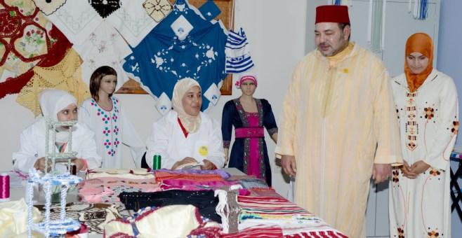 الملك محمد السادس يدشن مركزا لتكوين الشباب في طنجة
