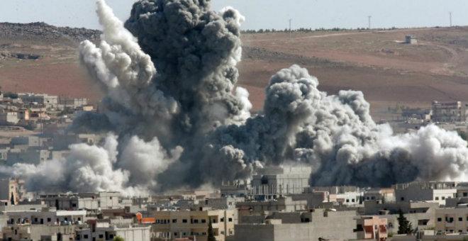 داعش تفجر مبنى حكومي بالحسكة