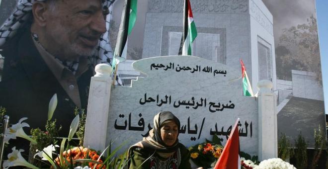 ضريح عرفات.. مزار المشتاقين إلى زعيم فلسطيني قوي
