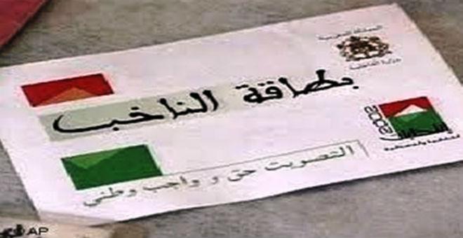 تقديم الطلبات للتسجيل في اللوائح الانتخابية  في المغرب