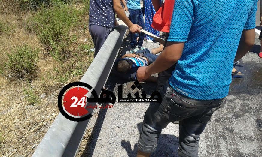 عاجل:إصابة أربعين  شخصا في حادثة سير خطيرة في المحمدية