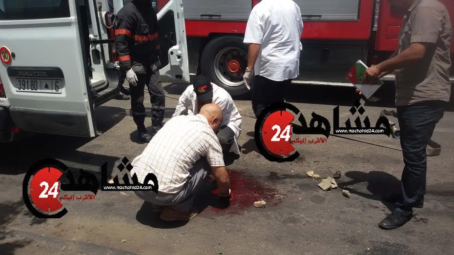 حادثة سير تحوّل مسنّ إلى أشلاء في الدار البيضاء