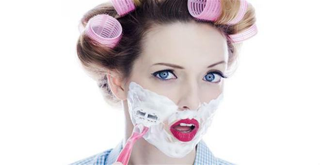 للنساء: حلاقة الوجه آخر ابتكارات عالم الجمال