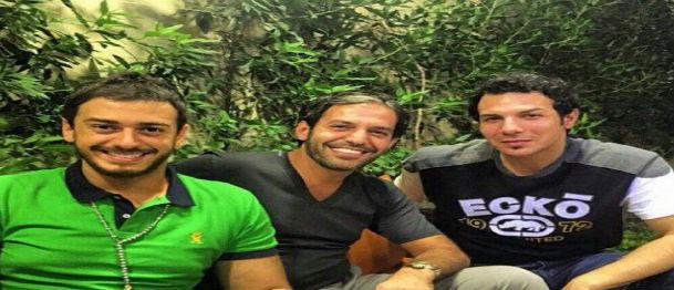 بالصورة: هذا ما جمع باسل الخياط وسعد لمجرد