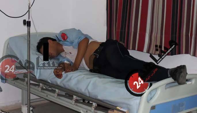 عاجل: إصابة تاجر مخدرات و رجل شرطة بعد تبادل لإطلاق النار في بنسليمان
