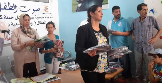 توزيع كسوة العيد على الأطفال الأيتام في منطقة الدشيرة