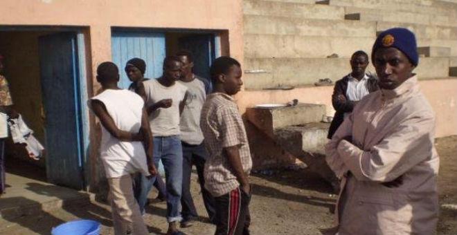 مصرع مهاجر  في طنجة متأثرا بجروحه خلال عملية إخلاء الشقق