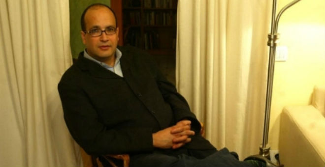 علي المرابط يوقف إضرابه عن الطعام   في انتظار مرور 3 شهور