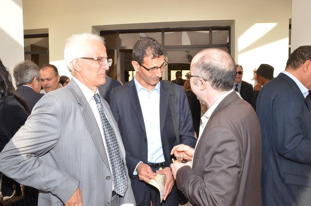 في بيت الصحافة في طنجة