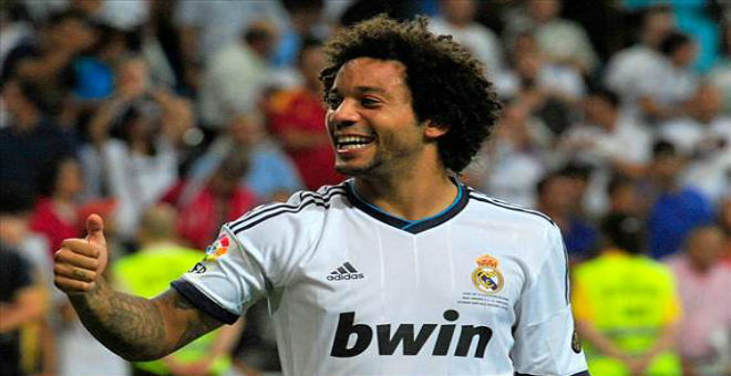 مارسيلو يجدد عقده مع ريال مدريد إلى 2020