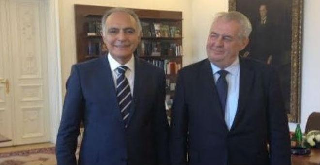 رئيس التشيك يدعو الملك محمدالسادس لزيارة بلده
