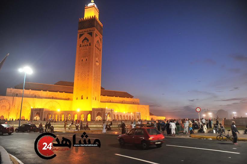 34 إصابة منهم حاملان و 5 أطفال مفقودين في حادث مسجد الحسن الثاني