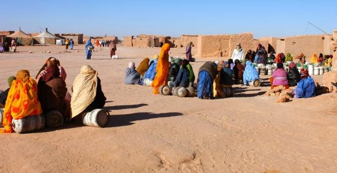 1200عائلة صحراوية تهدد قيادة البوليساريو بالاحتجاج أمام مقر بعثة