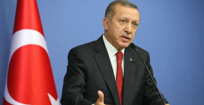 أردوغان يستنكر تفجير