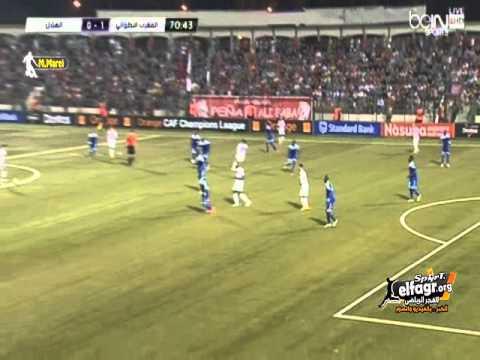 المغرب التطواني-الهلال السوداني: 1-1