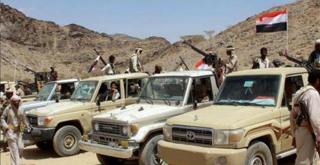 القوات اليمنية تعيد السيطرة على مطار عدن الدولي