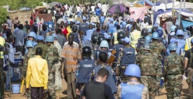 السودان تمنع القوات الدولية من دخول قرى دمرتها الحرائق