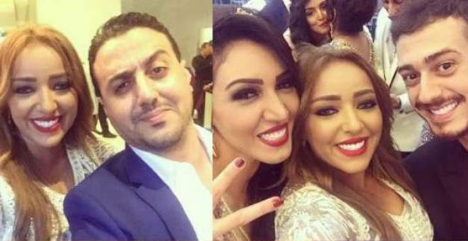 نجوم مغاربة يحضرون زفاف شقيق أسماء لمنور