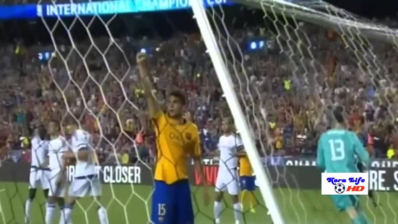 مباراة برشلونة وتشيلسي 2-2