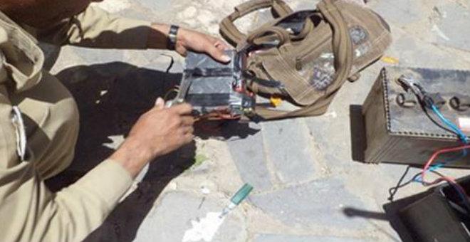 خبراء يفككون قنبلة قرب مقر العدالة والتنمية بأنقرة