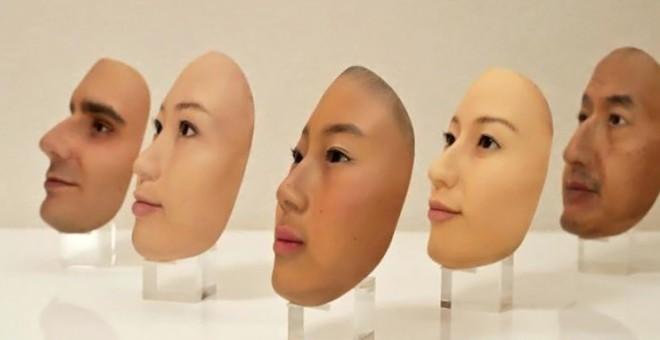 اليابانيون يصممون وجوها اصطناعية