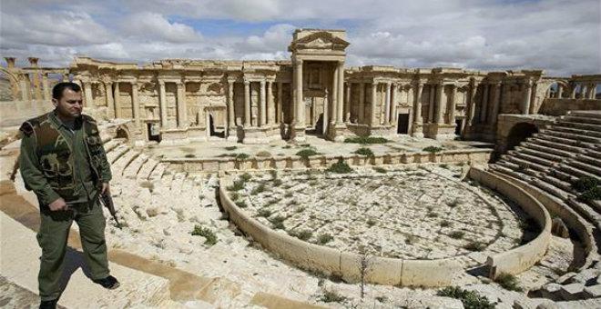 الجيش السوري يحرر تدمر من قبضة تنظيم الدولة