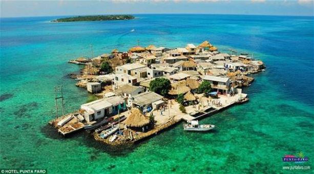 بالصور: أكثر جزيرة ازدحاما في العالم