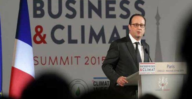 هولاند يفتتح قمة الضمائر من أجل المناخ