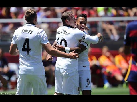 أهداف مانشستر أمام برشلونة :3-1