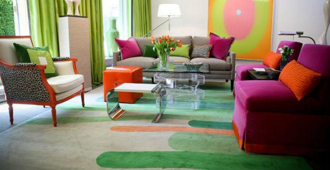 8 أفكار لاستخدام الأرضيات الملونة في ديكور المنزل