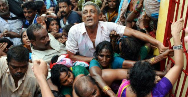 مقتل 27 شخصا في مهرجان هندي بسبب التدافع