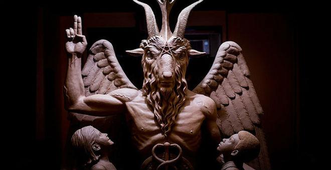 إزاحة الستار عن تمثال الشيطان في ديترويت