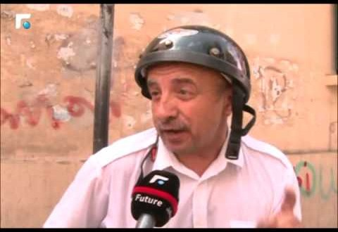 مواطن لبناني يغني لبيروت بطريقة طريفة