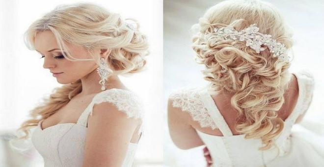 بالصور: أجمل تسريحات الشعر لعروس 2015