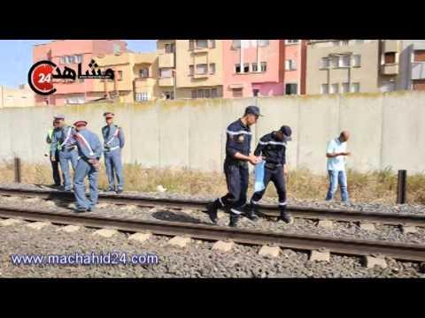 قطار يدهس شابّا أثناء عبوره السكة الحديدية في عين حرودة