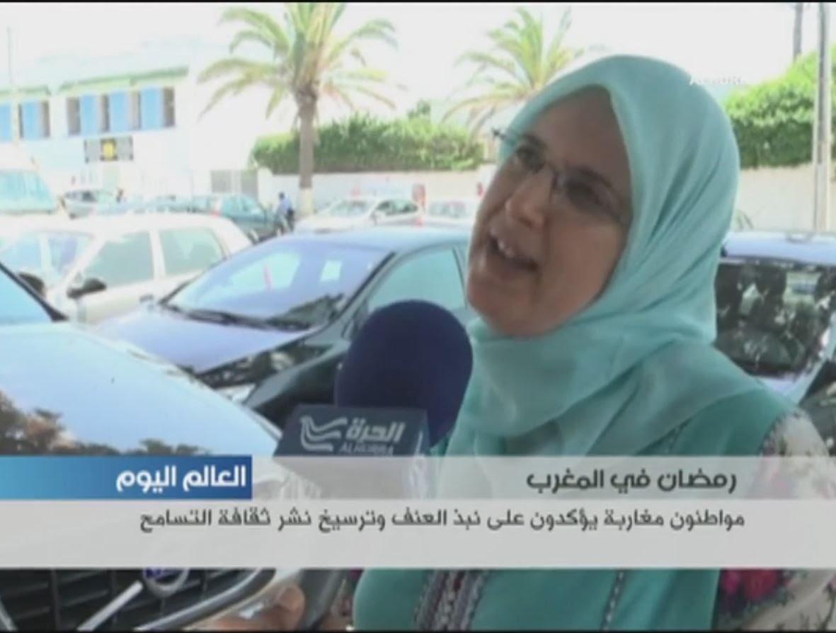 مواطنون مغاربة يؤكدون على نبذ العنف وترسيخ نشر ثقافة التسامح