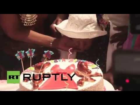 أكبر معمرة بالعالم تحتفل بعيد ميلادها الـ 116