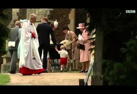 تعميد الأميرة البريطانية شارلوت في حفل عائلي خاص