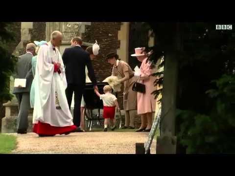 تعميد الأميرة البريطانية شارلوت