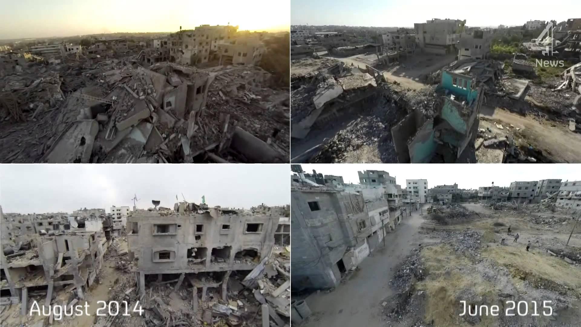 بالفيديو..غزة بعد عام من العدوان