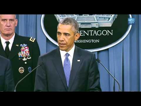زلة لسان أوباما: نحن ندرب