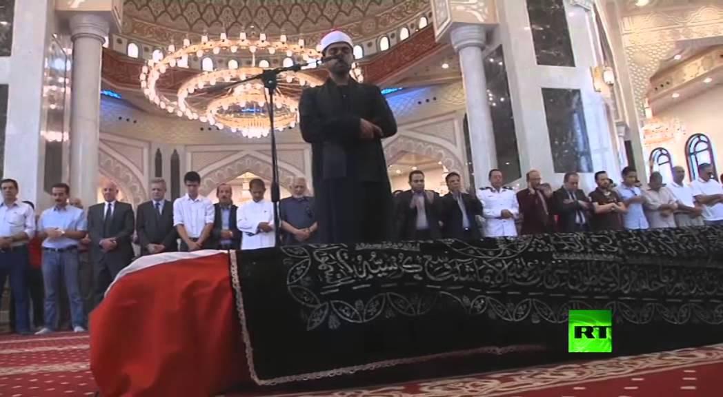 جنازة الفنان العالمي عمر شريف