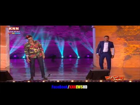 سعد لمجرد يفاجئ جمهور مهرجان الضحك في مراكش