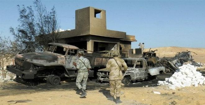 تنظيم الدولة يكبد الجيش المصري 30 قتيلا في سيناء