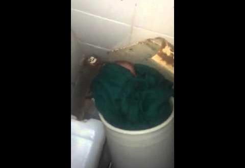 التخلي عن طفل في مرحاض مستشفى طنجة