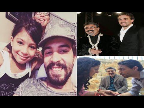 أسامة البسطاوي رفقة عائلته ووالده المرحوم محمد البسطاوي