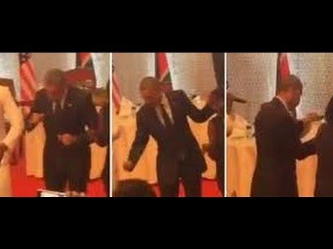 أوباما يرقص على أنغام بلده كينيا