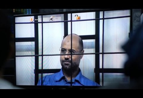 الحكم بالإعدام على سيف الإسلام نجل القدافي