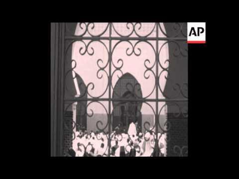 عندما دشن الراحل الحسن الثاني مسجدا بدكار