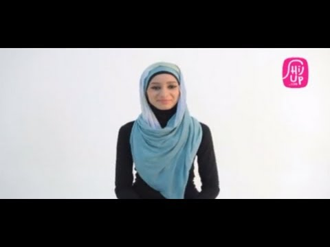 أسهل طريقة عصرية لارتداء الحجاب